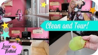 SPEED CLEAN! Kitchen Tour!   LIFESTYLE