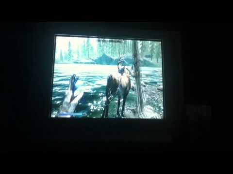 Skyrim my pet elk!