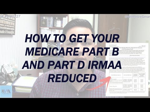 How to Get Your Medicare Part B and Part D IRMAA Reduced