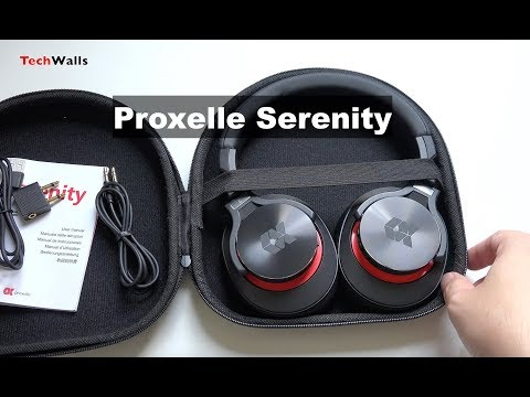 Proxelle Serenity Over-Ear Bluetooth Headphones Unboxing