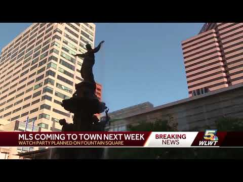MLS brings major announcement to Cincinnati Tuesday