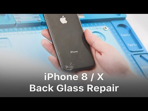 Quick Solution - iPhone 8/X Broken Back Glass Repair