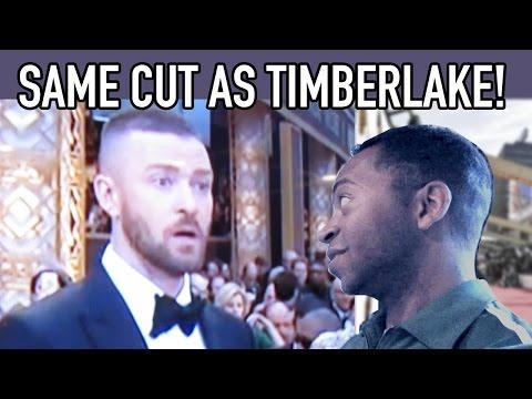 Justin Timberlake has my Haircut??? - Oscars Party 2017