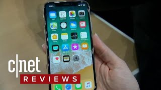 iPhone X hands-on: Apple