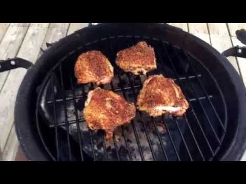 How to Cook Chicken Thighs on The Big Green Egg