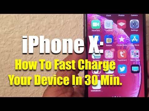 How To Fast Charge Your iPhone In 30Min.