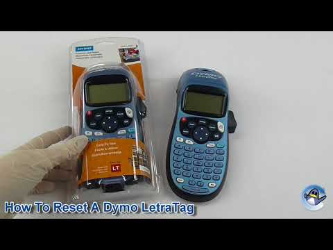 How To Reset A Dymo LetraTag / Remove Paper Jam Message
