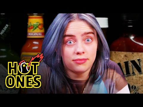 Xxx Mp4 Billie Eilish Freaks Out While Eating Spicy Wings Hot Ones 3gp Sex