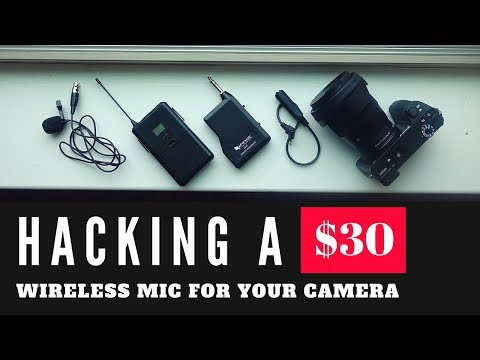 Hacking Cheap Wireless Mic for Your Mirrorless and DSLR | $30 Fifine Wireless Lavalier Range Test