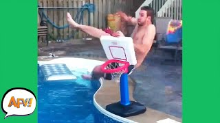 From HANG-TIME to SPLASH TIME! 😂 | Funny Fails | AFV 2020