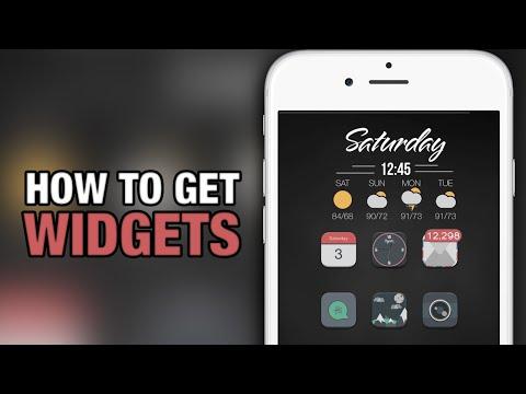 How To Get Widgets On iPhone - iPad - iPod Touch - iOS 9 Jailbreak