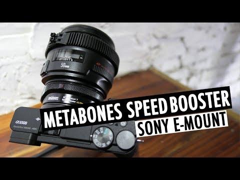 METABONES SPEED BOOSTER w/ SONY a6500 | E-MOUNT | RehaAlev