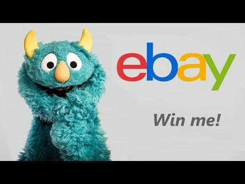 eBay Monster Puppet