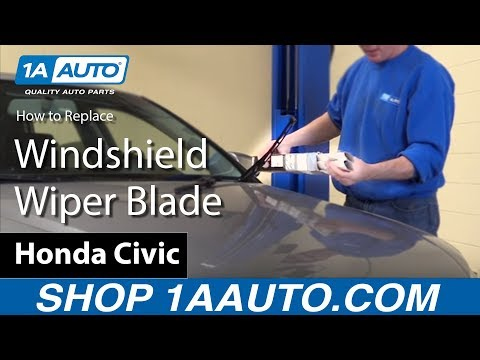 How to Install Replace Windshield Wiper Blade 2005-08 Audi A4