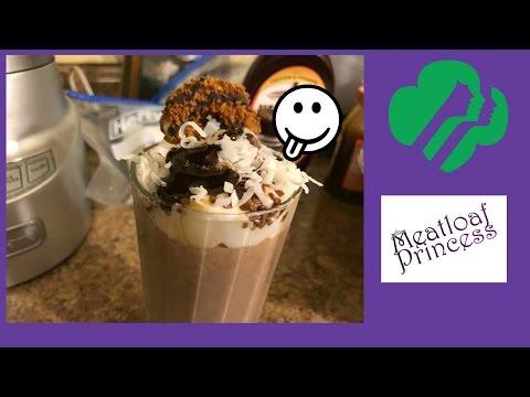 Samoa Girl Scout Cookie Creme Frappuccino