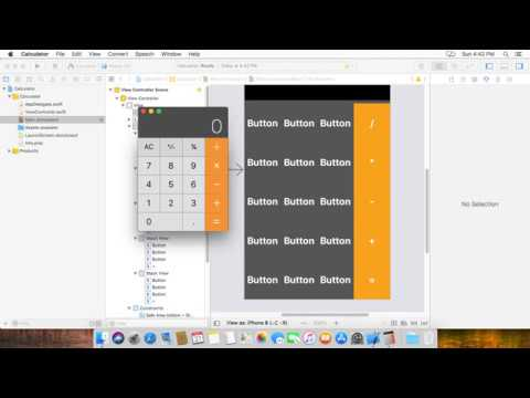 How to make a calculator in ios Swift