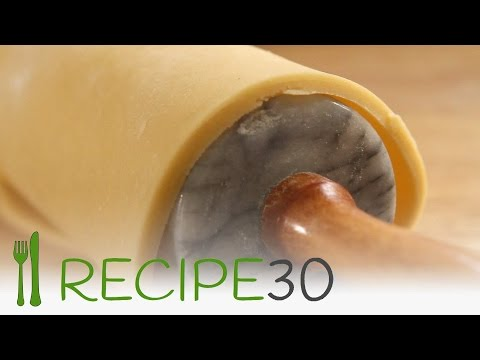 How to make sweet pastry crust recipe by www.recipe30.com