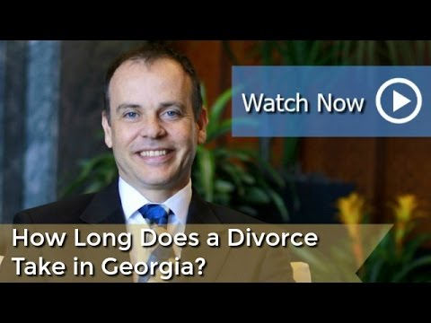 How Long Does a Divorce Take in Georgia? | Family Law & Divorce Attorney in Duluth Georgia