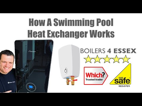 How a swimming pool heat exchanger works
