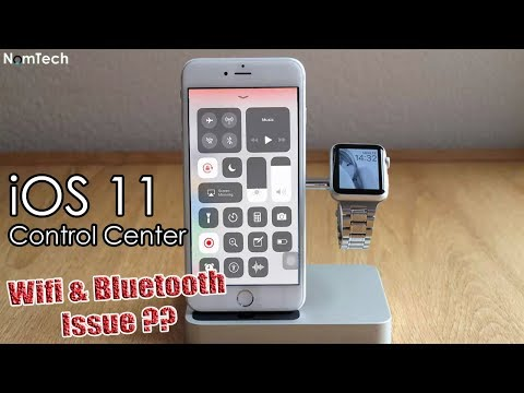 iOS 11 Control Center WiFi Bluetooth Issue   iOS11 Review   I Think it's Worst Feature!