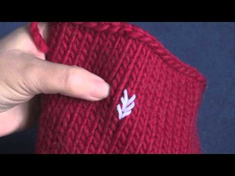 Learn How to Do Duplicate Stitch Embroidery on Knits