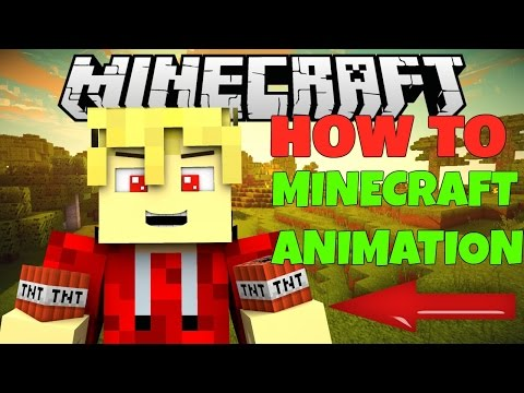 How to make a Minecraft/MCPE animation on android/iOS! 2016 (EASY)