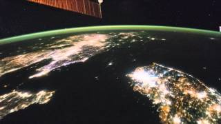 North Korea Looks Strangely Dark From Space In Asia Fly-Over   Video