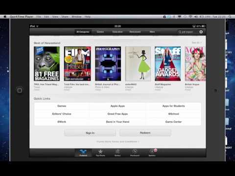 Switching between Itunes accounts on one iPad