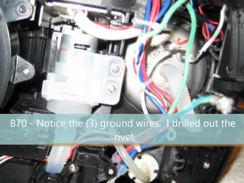 B70 Keurig Platinum Brewing System - Vacuum Repair