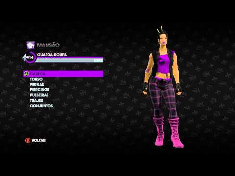 Saints Row The Third - Roupa Rock