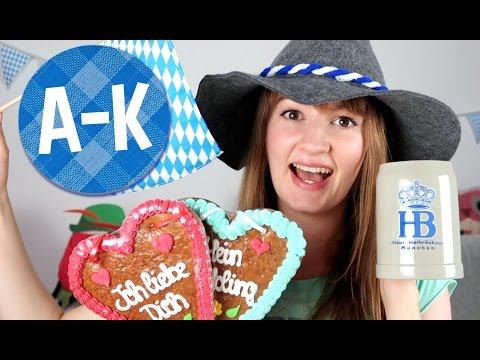 Oktoberfest Alphabet! A-K