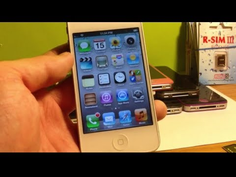 How to Unlock ANY iPhone 4S iOS 6.1.3/6.1.2/6.1/6.0/.6.0.1/5.1.1/2.0.12 or Lower Sprint/Verizon/At&t