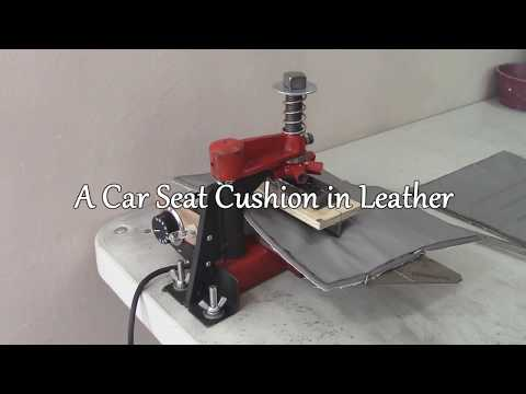 Bespoke Car Seat on a Chair - Part 5