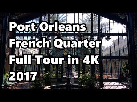 Disney's Port Orleans: French Quarter   Full Tour 2017 in 4K UHD   Walt Disney World
