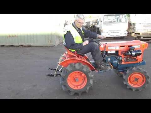 The Auctioneer Ltd.. MACHINE TEST DRIVE: Kubota compact tractor