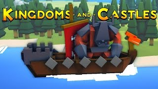Kingdoms and Castles - Ep. 2 -Viking Raiders! - Kingdoms and Castles Gameplay