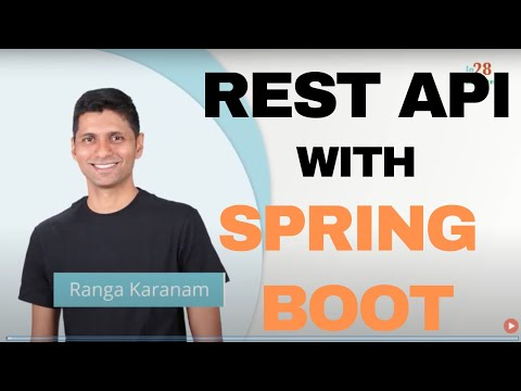 Rest Web Services With Spring Boot