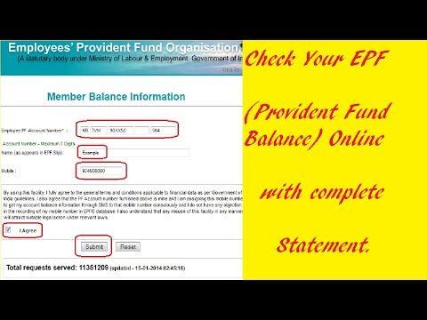 How to Check your Provident Fund Account Status Online in Hindi