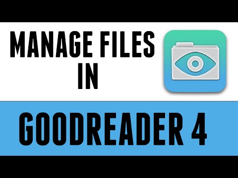 How to Manage Files in Goodreader 4 on the iPad