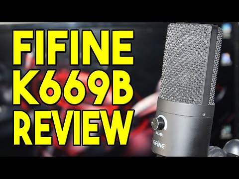 To USB Or Not To USB? Fifine K669B USB Microphone Review