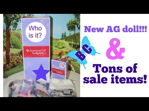 NEW American Girl Doll and Tons of Sale Items!