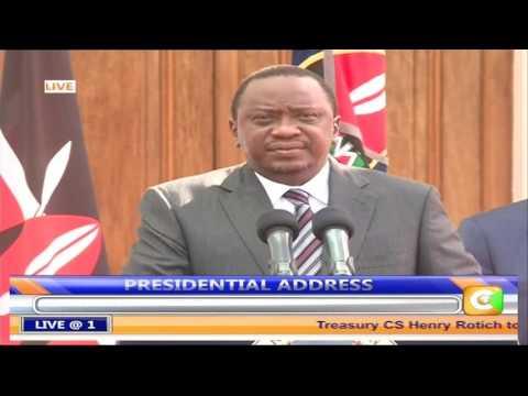Uhuru announces plan to kick start dialogue on IEBC
