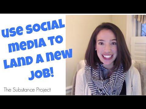 Using Social Media To Land a New Job