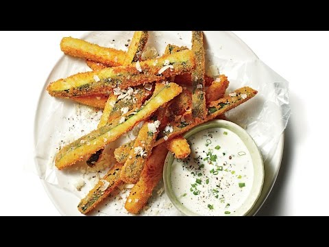 Fried Zucchini Straws | Southern Living