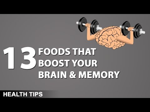 Top 13 Power Foods to Boost Brain & Improve Memory | What It Takes