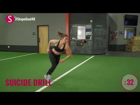 3-Minute Cardio Burn | #CrushYourGoals with Jen Widerstrom | SHAPE