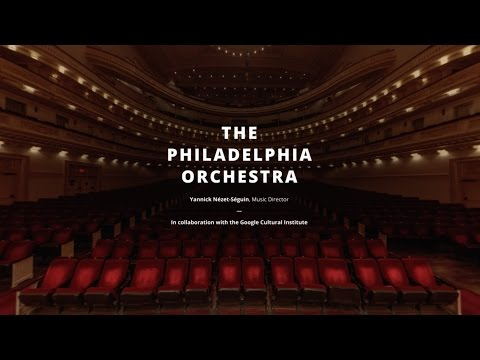 Carnegie Hall 360 Video featuring The Philadelphia Orchestra