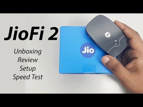 JioFi 2 Reliance Jio 4G WiFi Router & Hotspot Unboxing | Review | Setup | Speed Test