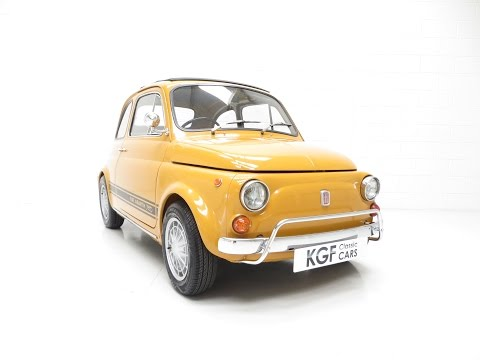 An Incredible UK Fiat 500 750 Abarth Evocazione with Full History from New - SOLD!