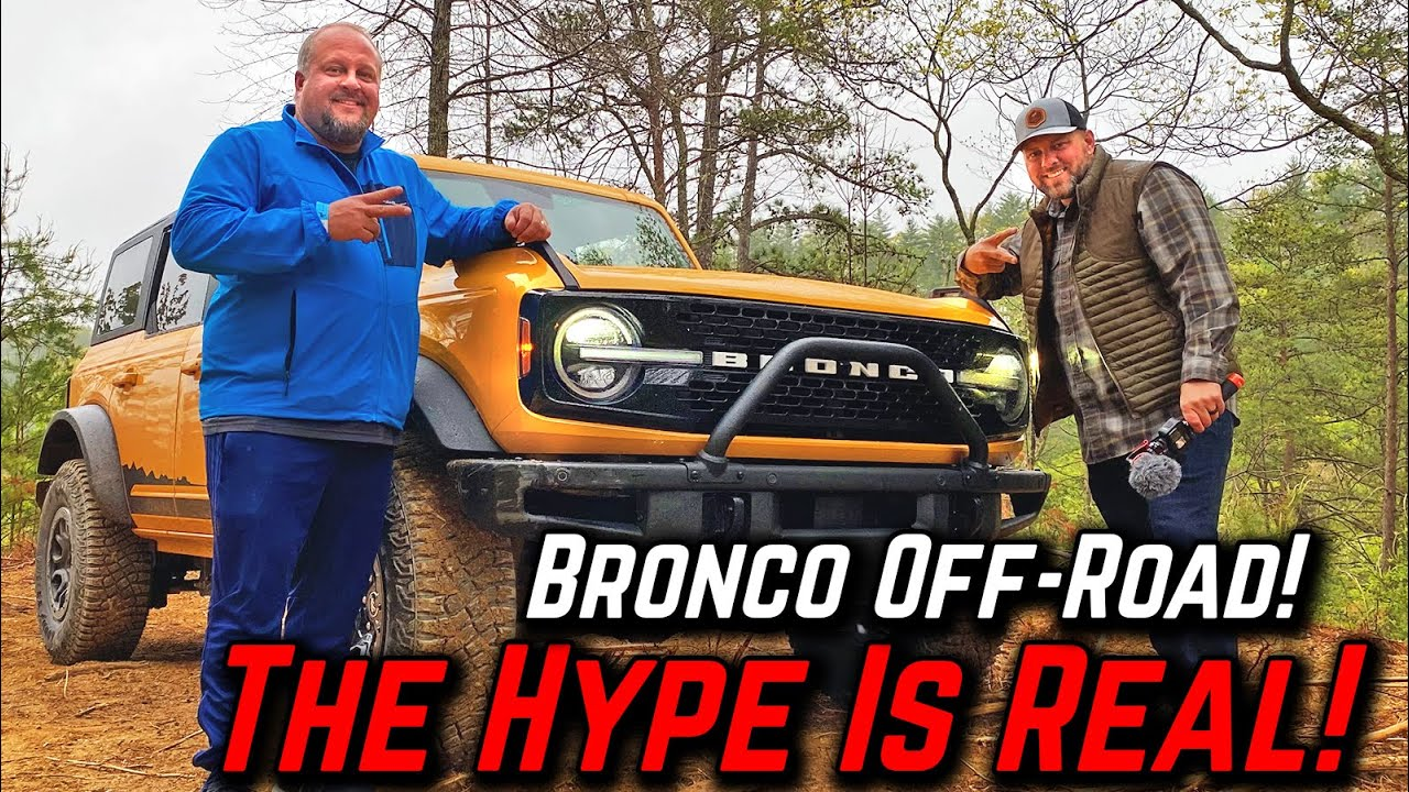 New Bronco Off-Road! We rode with Dan Schaffer at Bronco Super Celebration East 2021! All Colors!